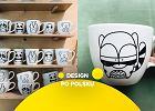 Polski design do herbaty. Te porcelanowe kubki i filiżanki urozmaicą codzienną rutynę