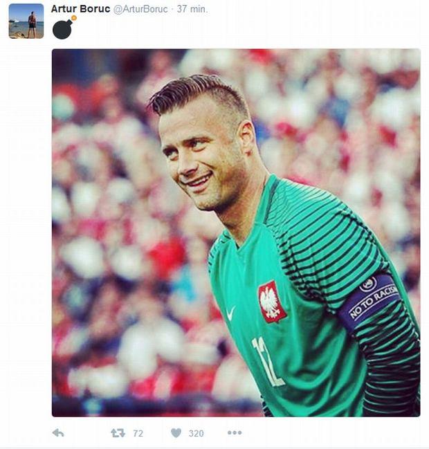 Euro 2016. Artur Boruc wyjawił kto zagra w bramce z Niemcami? Zagadkowe zdjęcie