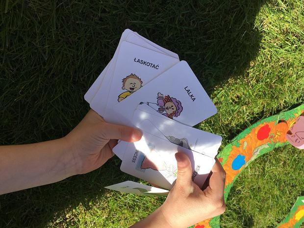 Nie musimy rozkładać całej planszy, aby dobrze się bawić - wystarczą same karty