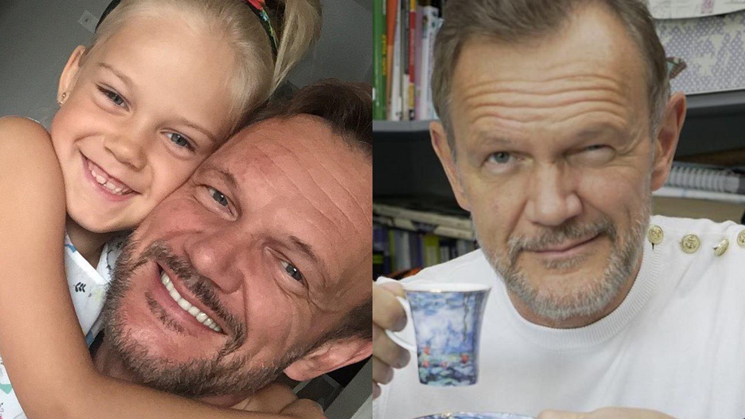 Córka zaskoczyła Cezarego Pazurę trudnym pytaniem o zmarszczki. Aktor wybrnął po mistrzowsku. Uratowało go poczucie humoru