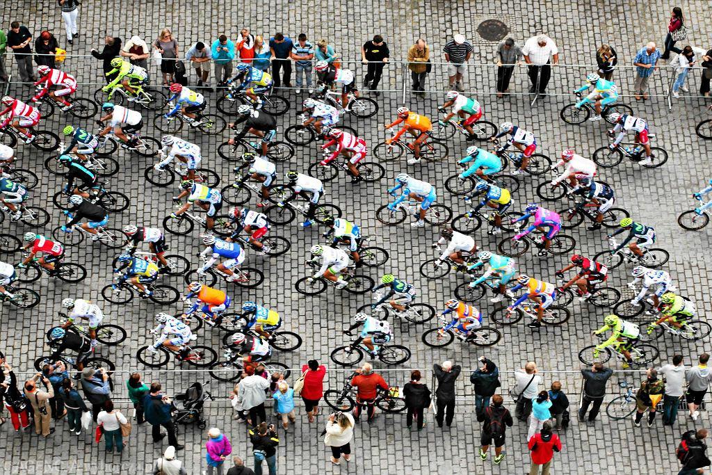 Tour de Pologne w Krakowie