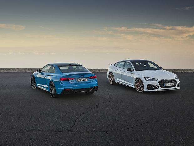 Nowe Audi RS 5 Coupe i RS 5 Sportback. W 25. rocznicę stworzenia linii RS