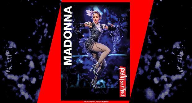 Nowe wydawnictwo koncertowe Madonny już w sprzedaży! Na zdjęciu okładka.