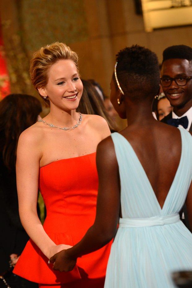 Jennifer Lawrence i Lupita Nyong'o