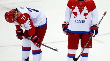 Rosjanie przeżywają porażkę z Finlandią w ćwierćfinale turnieju hokeja na lodzie w Soczi