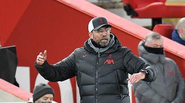 Klopp wściekły po porażce z Southampton.