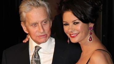 Michael Douglas z żoną
