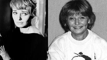 Lucyna Winnicka w filmie 'Pociąg' Jerzego Kawalerowicza z 1959 r. i w drugiej połowie lat 80.