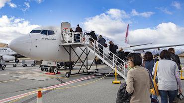Samolot musiał wracać zaraz po starcie, ponieważ jedna z pasażerek zostawiła na lotnisku swoje dziecko