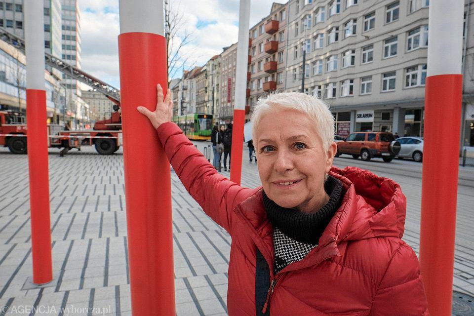 Maria Stachowiak-Krzyzaniak, mieszka przy ulicy Święty Marcin