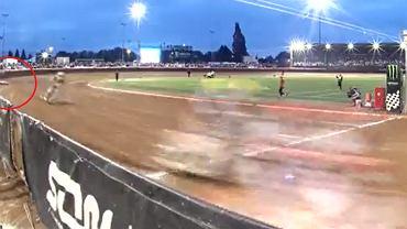 Upadek Macieja Janowskiego w finale Speedway of Nations