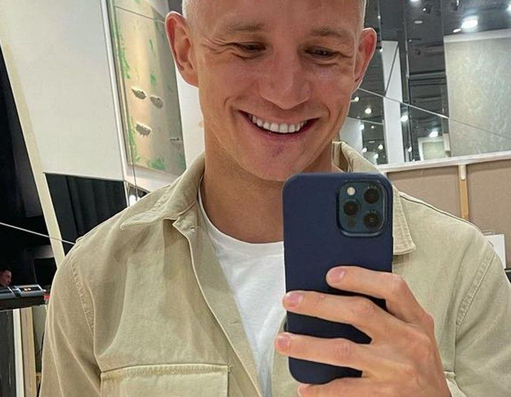 Jakub Rzeźniczak przefarbował włosy
