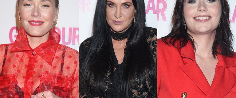 """Gala Kobieta Roku """"Glamour"""". Kayah i Lamparska w prześwitujących koronkach"""