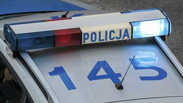 Radiowoz policyjny