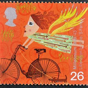 Znaczek pocztowy - Anglia