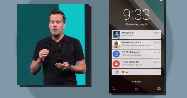 Powiadomienia w Androidzie L