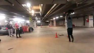 Polscy skoczkowie trenują w podziemnym garażu