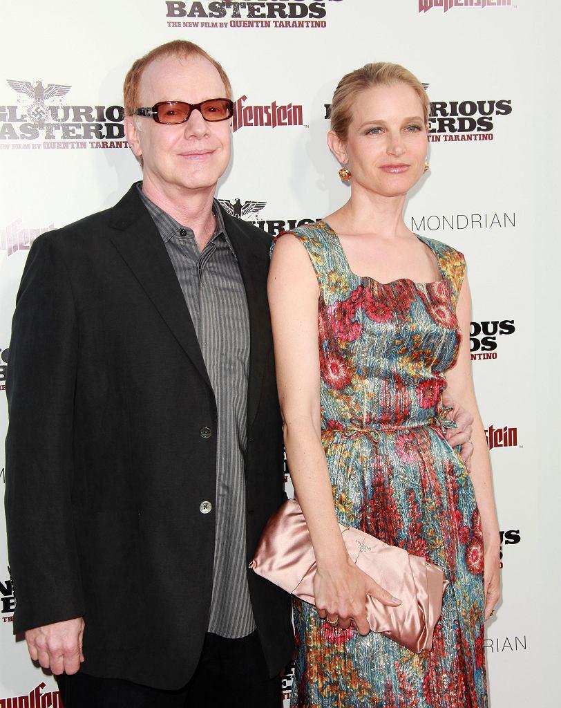 Bridget Fonda z mężem w 2009 roku
