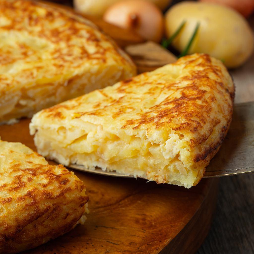 Hiszpańska tortilla z ziemniakami