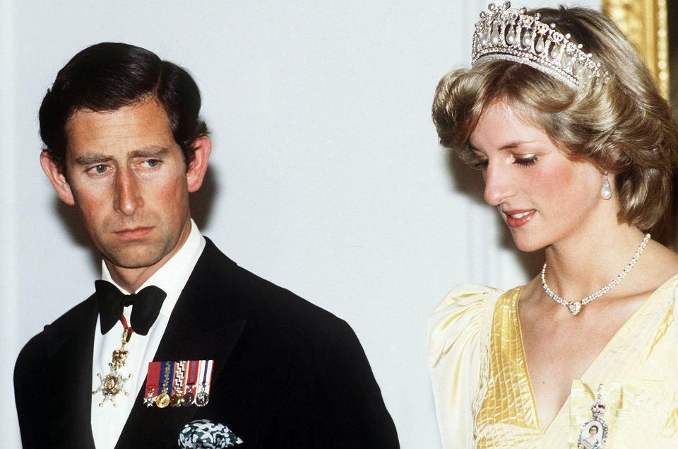 Znalezione obrazy dla zapytania księżna diana i książę karol