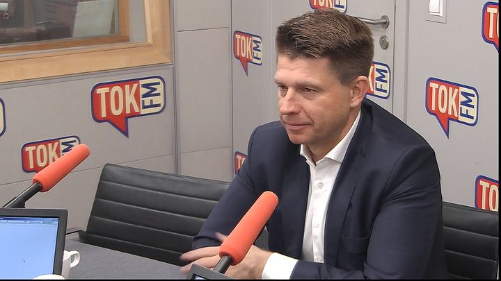 Ryszard Petru w studiu TOK FM