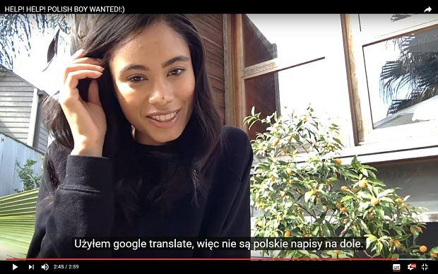 Apel Dee Dee, która chciała odnaleźć polskiego chłopaka poznanego na koncercie, w ciągu pięciu dni obejrzano na YouTubie 1,5 mln razy