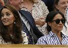 Meghan Markle i Kate Middleton na Wimbledonie. Markle się popłakała [WIDEO]