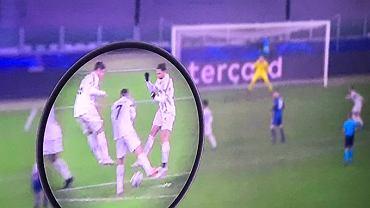 Zachowanie piłkarzy Juventusu