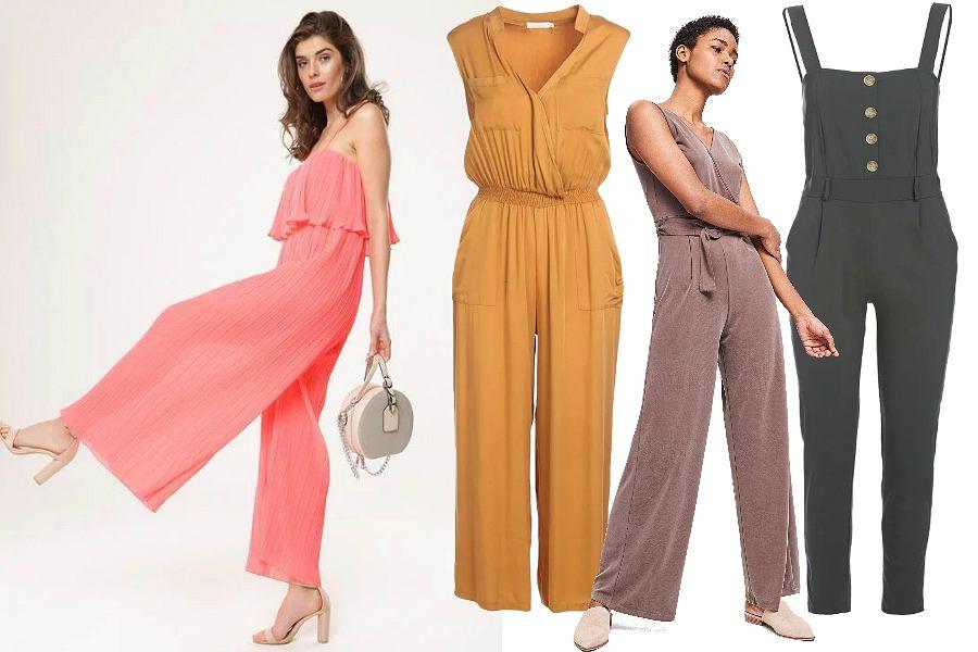 Kombinezony w modnych kolorach