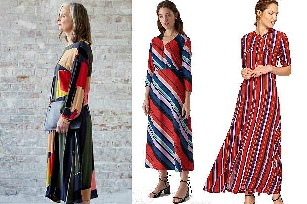 sukienki maxi dla pań po 50