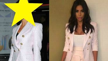 Izabela Janachowska i Kim Kardashian