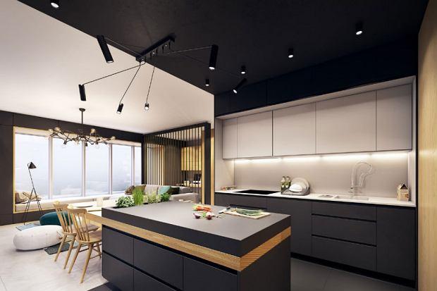 Jak Urządzić Sufit W Kuchni Wnętrzaaranżacje Wnętrz