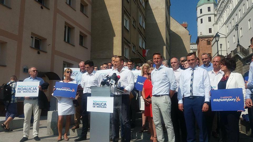 16 sierpnia 2018 r. PO i Nowoczesna inaugurują wyborczą kampanię