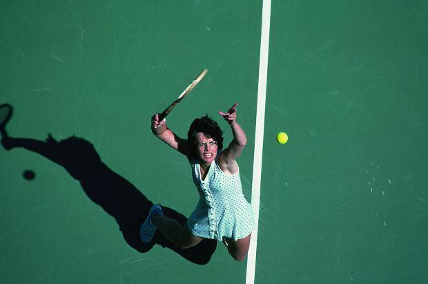 Billie Jean King At 1978 US Open