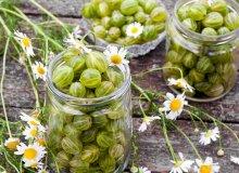 Konfitura agrestowa z liśćmi laurowymi - ugotuj