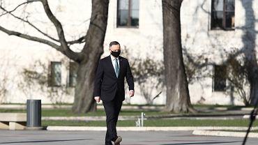 Prezydent Andrzej Duda na Wawelu w 11. rocznicę katastrofy smoleńskiej