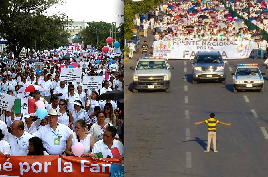 Marsz środowisk konserwatywnych i katolickich, które próbowało zatrzymać dziecko