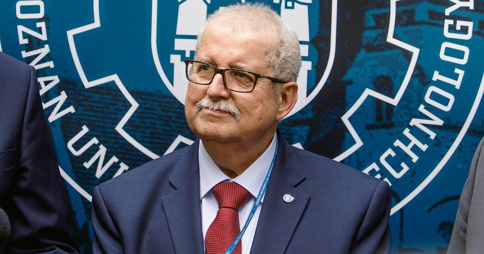 Prof. Tomasz Łodygowski, rektor Politechniki Poznańskiej
