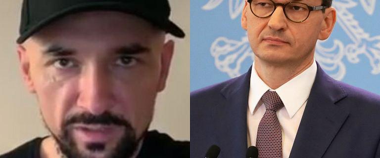 Patryk Vega zdradził, kto zagra w jego filmie Mateusza Morawieckiego. Padło na Marcina Bosaka