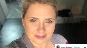 Ela Romanowska w nowym, nietypowym kolorze włosów. 'Wysiedziałam u fryzjera 5h'