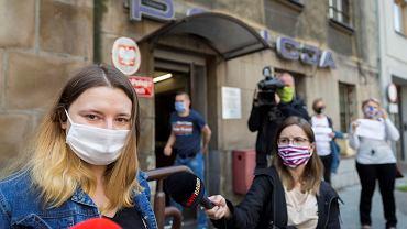 Sylwia Kwaśniewska, studentka Uniwersytetu Śląskiego była przesłuchiwana przez kilka godzin