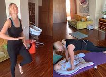 Joanna Moro nie zwalnia tempa. Aktorka intensywnie ćwiczy z małą córeczką