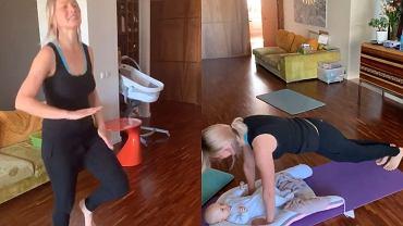 Joanna Moro - ćwiczenia w domu