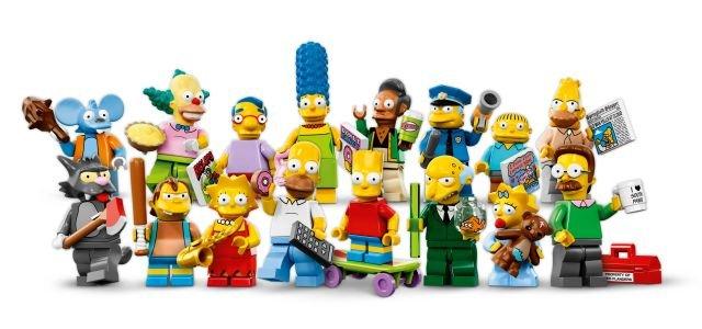 LEGO Simpsons figurki, 12 zł (za 1 sztukę)