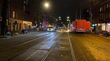 Holandia. Atak nożownika w Amsterdamie