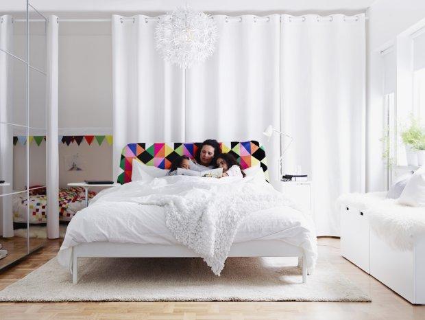 Jak wydzielić sypialnię w 40-metrowym mieszkaniu?