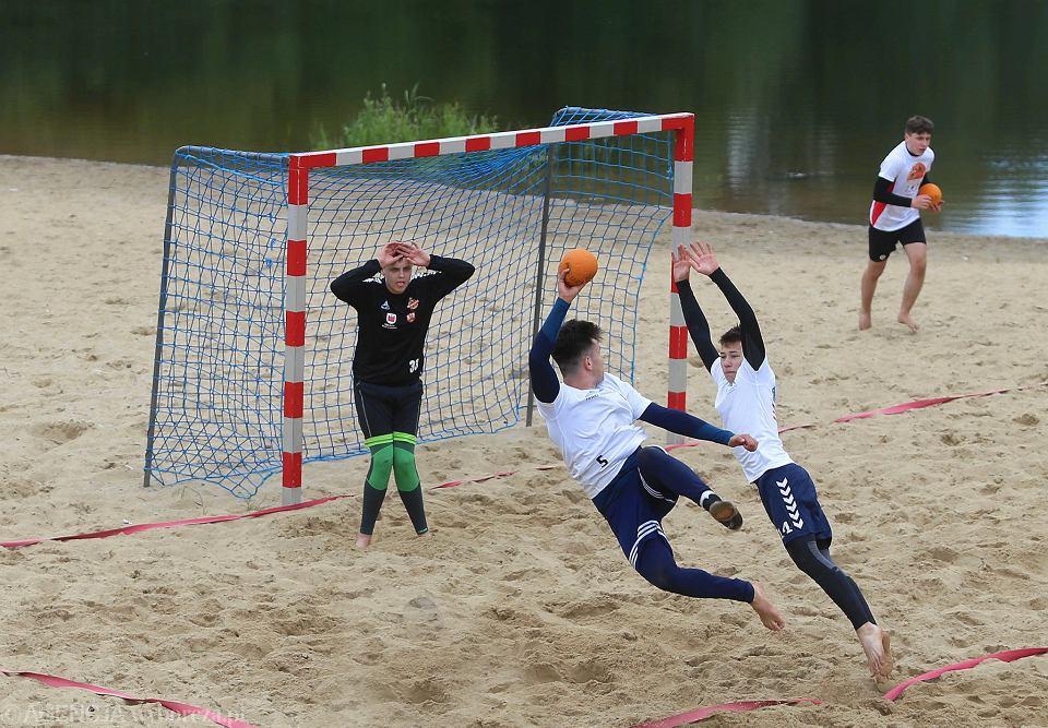 Piłka ręczna plażowa. Trening naborowy do kadry Mazowsza