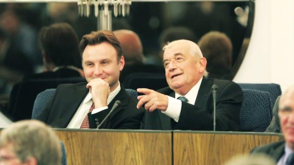 Andrzej Duda i prof. Zbigniew Religa
