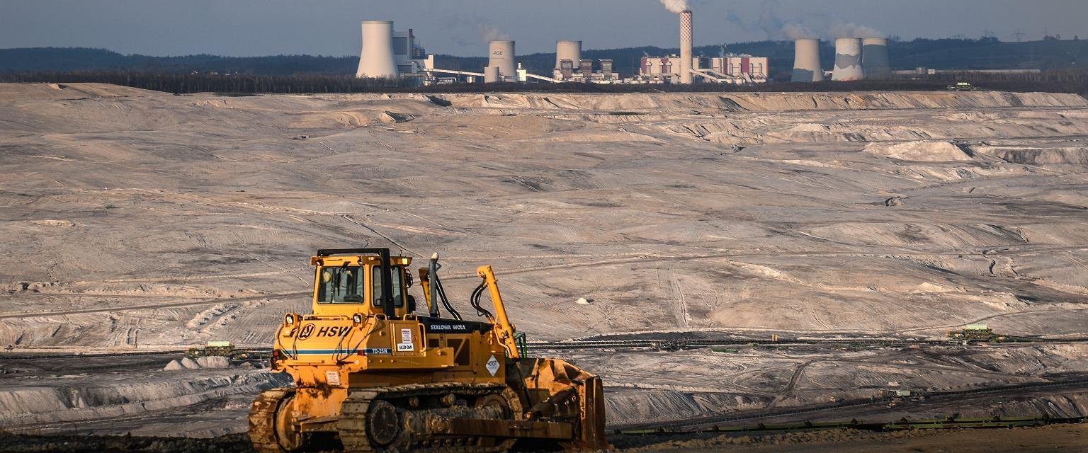 Kopalnia węgla brunatnego Turów (Fot. Tomasz Pietrzyk / Agencja Gazeta)