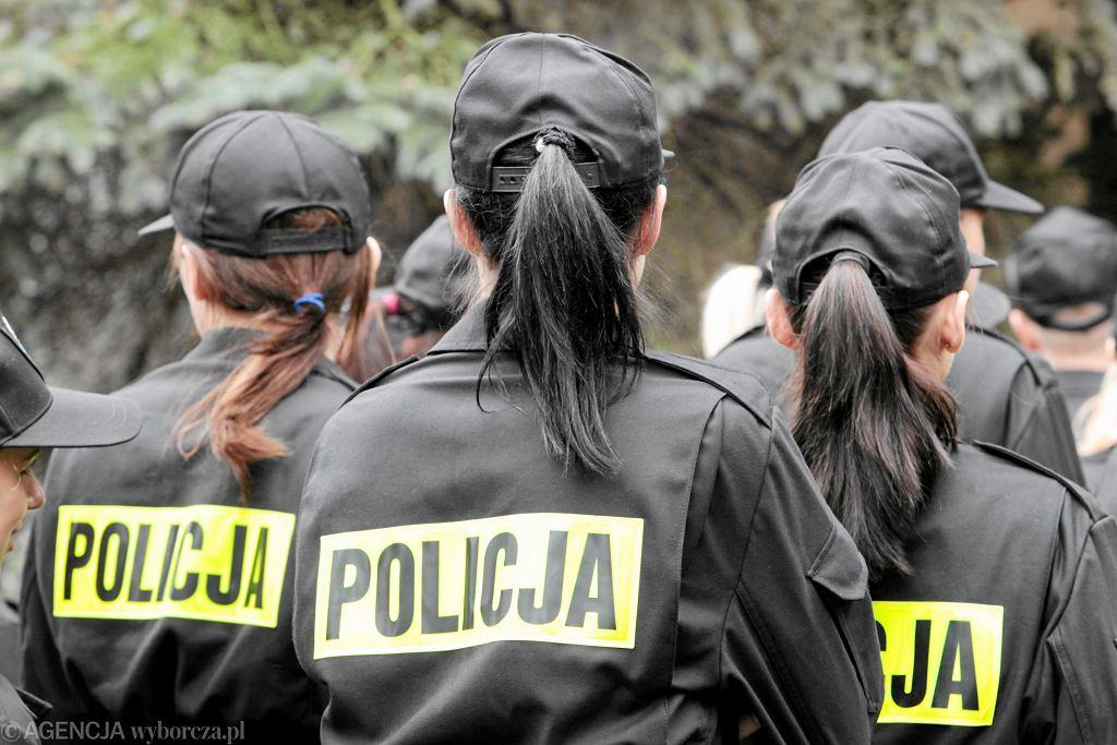 Policyjne ślubowanie / zdjęcie ilustracyjne (fot. Piotr Skórnicki / Agencja Gazeta)